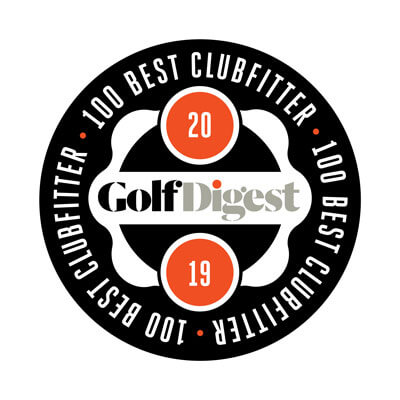Golf Digest 100 Best Clubfitters 2019