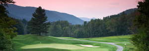 Sunset image of the Green Mountain National Golf Course