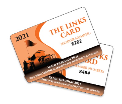 The Links card sample image